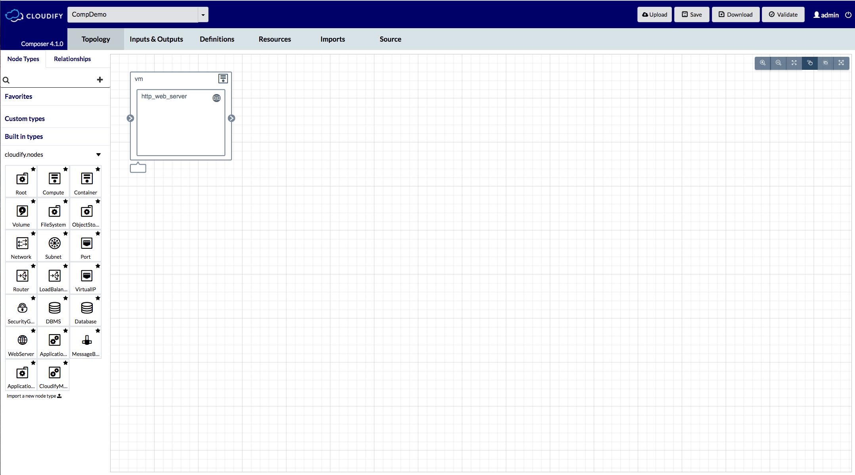 Cloudify composer cloudify documentation center blueprints list malvernweather Image collections