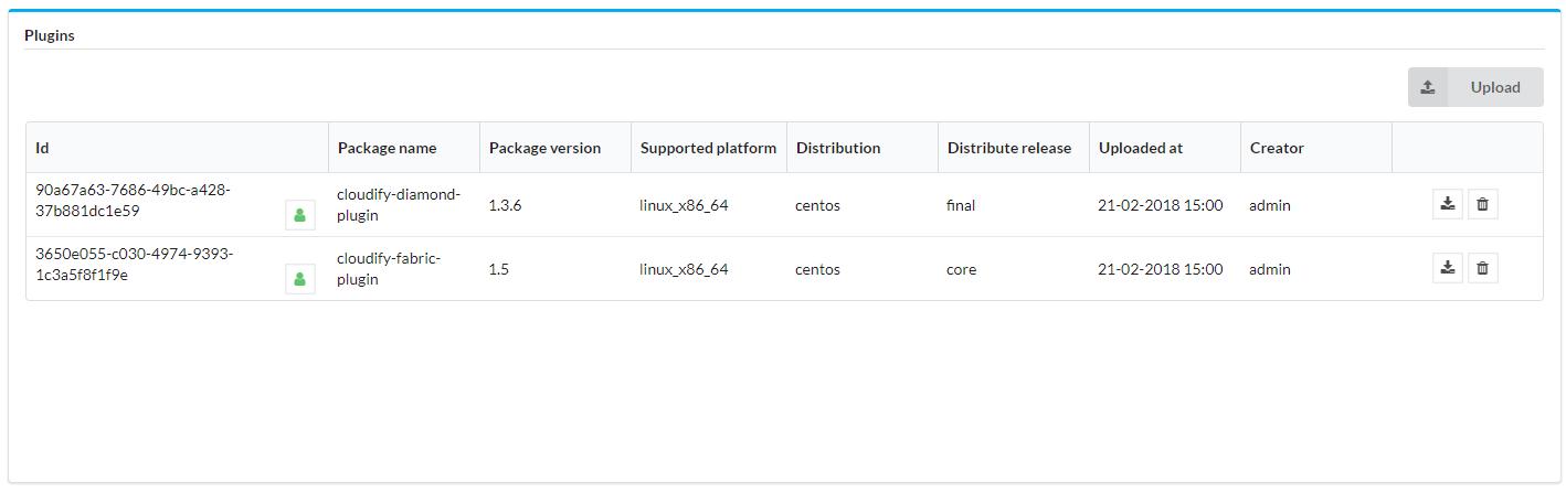 Plugins List | Cloudify Documentation Center