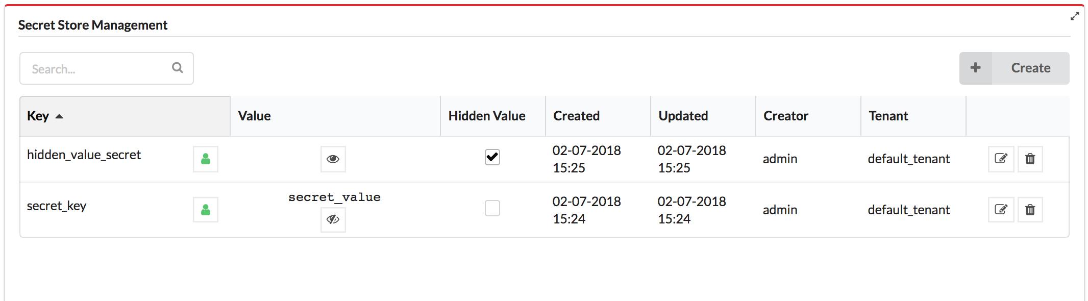 Using the Secrets Store | Cloudify Documentation Center