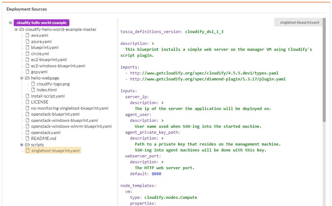 Cloudify Console Guide | Cloudify Documentation Center