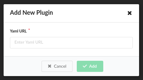 Plugins from URL